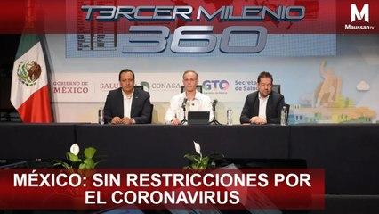 Tercer Milenio 360 l México: Sin restricciones por el Coronavirus l 17 de Marzo
