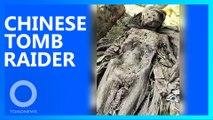 500-year-old well-preserved body dug up in Anhui, China