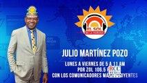 Julio Martínez Pozo ultimas informaciones sobre el Covid-19; Tema de las elecciones presidenciales