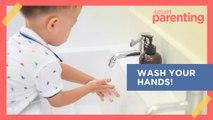 Ang Cute! Moms And Kids Wash Their Hands To The Tune Of Sampung Mga Daliri