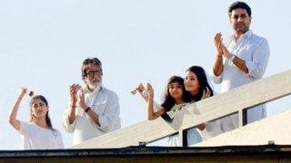 Amitabh Bachchan, Aishwarya, Abhishek, Shweta Nanda & Navya Naveli Support Janata Curfew