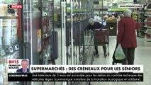 Supermarchés : des créneaux pour les seniors