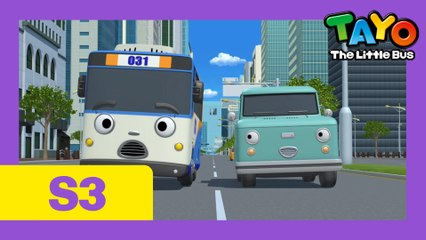Ep. 13 Cooku & Champ's trip to the city l Tayo the Little Bus Season 3
