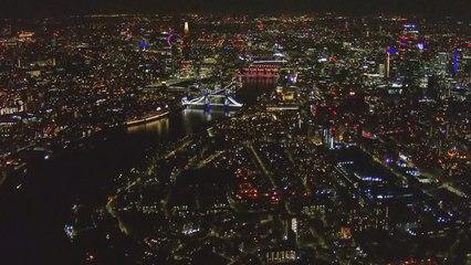 Luchtfoto's tonen leeg Londen na maatregelen rond Coronavirus