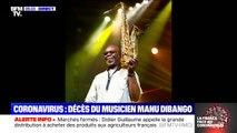 """Mort de Manu Dibango: André Manoukian rend hommage au """"papa de tous les musiciens"""""""