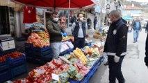 Bünyan'da zabıta ve polisten anonslu 'koronavirüs' uyarısı - KAYSERİ