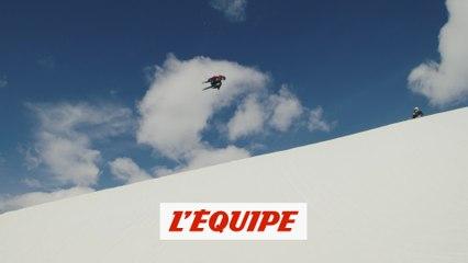 Kevin Rolland de retour dans un halfpipe - Adrénaline - Ski freestyle