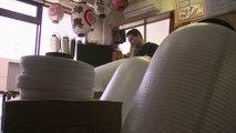 Traditional Japanese lantern shop struggles amid virus