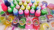 Kids Play Slime Combine Mix Learn Colors Clay Play Doh Surprise Eggs Toys For Kids