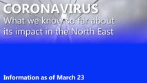 Coronavirus in the North East: the March 23 figures