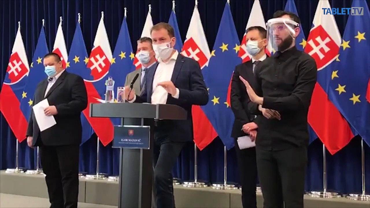 ZÁZNAM: Brífing premiéra I. Matoviča