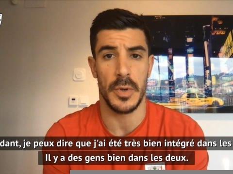 PSG - Berchiche compare les vestiaires parisien et basque