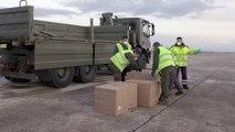 Un Airbus transporta mascarillas a España como apoyo en la crisis del Covid-19