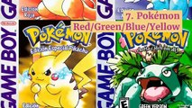 The best-selling video games of all time