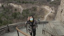 Great Wall of China re-opens, a symbolic win over virus