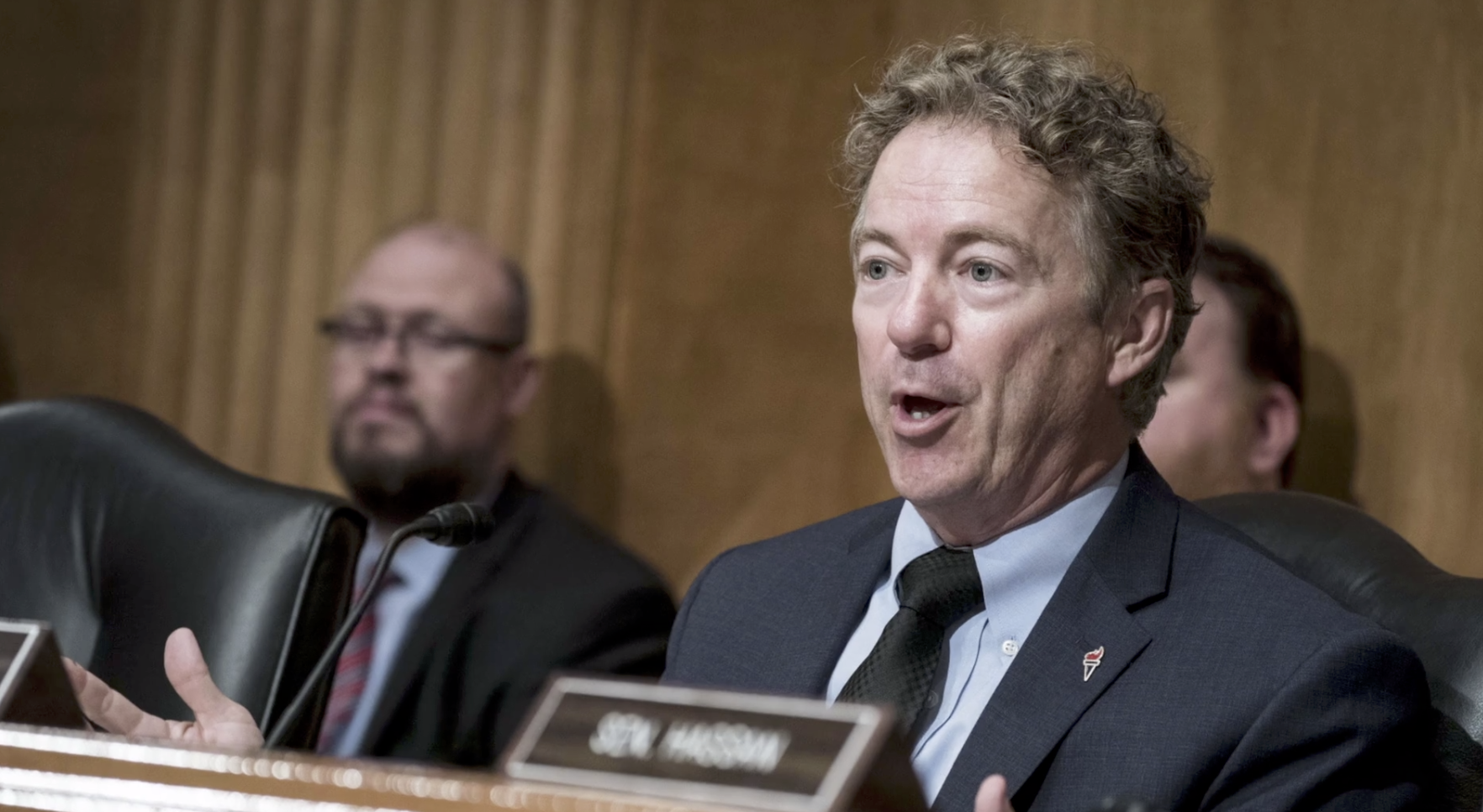 Senator Rand Paul Tests Positive for Coronavirus