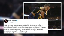 Rudy Gobert says he's lost his sense of smell and taste from coronavirus