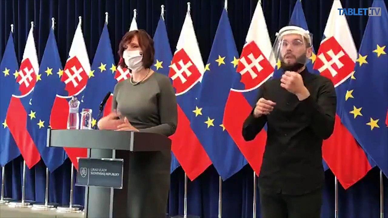 ZÁZNAM: Brífing M. Kolíkovej a V. Remišovej