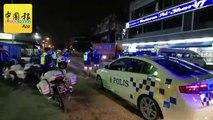 ◤行动管制14天◢ 军警加强执法 主要大道设路障 造成大塞车!