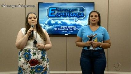 Mensagem de Esperança com Maria Vitória e Sara Samita - 20/03/2020