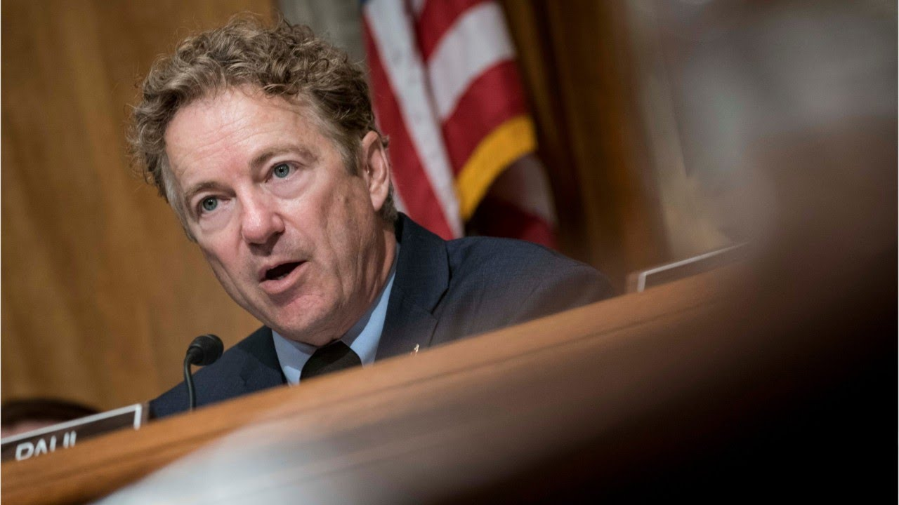 Kentucky Senator Rand Paul Tests Oositive For COVID-19