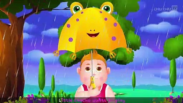 Rain Rain Go Away Nursery Rhyme With Lyrics - Cartoon Animation Rhymes & Songs for Children