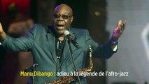 Manu Dibango: adieu à la légende de l'afro-jazz