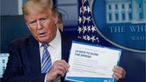 Trump's Approval Ratings Unsullied By CoronaVirus
