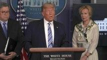 """Donald Trump estime que la chloroquine pourrait être """"un don du ciel"""""""