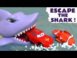 Hot Wheels Shark Escape Racing Challenge with Marvel Avengers Superheroes and Disney Cars McQueen with Funlings in this Family Friendly Full Episode English Toy Story for Kids from a Family Channel