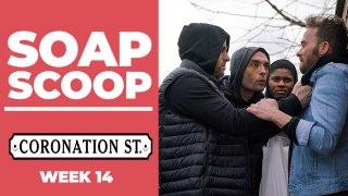 Coronation Street Soap Scoop! David is mugged