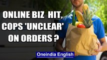 Online grocery & food delivery firms say cops unaware of exemptions   Oneindia News