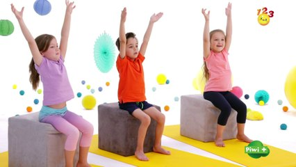 La coordination - Mouvement de yoga pour enfants avec123 piwi