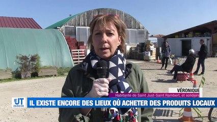 Marchés interdits : vous pouvez encore trouvez des produits frais et locaux à Saint just-Saint Rambert