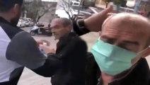 Son Dakika: Yaşlı adamı zorla durdurup başına kolonya döken kişi gözaltına alındı
