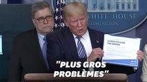 Contre un confinement général, Trump a des arguments bien à lui