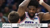 Joel Embiid Pledges $500,000 To Coronavirus Medical Relief