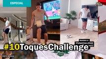 #10ToquesChallenge, el reto que nació de la cuarentena por COVID-19