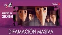 Juan Carlos Monedero y la difamación masiva 'En la Frontera' - 24 de marzo de 2020