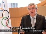 """Tokyo 2020 - Bach : """"Ces Jeux seront la lumière au bout du tunnel"""""""