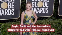 Taylor Swift And Kim Kardashian Are Fighting Again