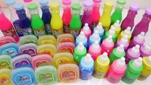 Mixing Slime Learn Colors Case Glitter Clay Play Doh Surprise Eggs Toys Toys For Kids