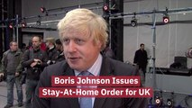 UK Government Says Stay At Home