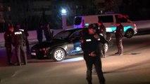 Seyir halindeki otomobile pompalı tüfekle ateş açıldı 1 yaralı
