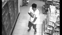Man Possessed by Ghost or Demon caught on CCTV at a convenience store