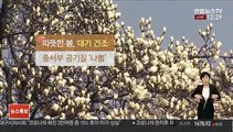 [날씨] 4월 하순처럼 따뜻…내일~모레 전국 비