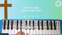NOT PIANIKA LAGU GOD IS SO GOOD [JCLF] | LAGU ROHANI
