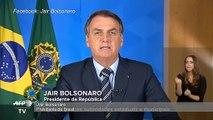 Bolsonaro critica medidas de cuarentena por coronavirus