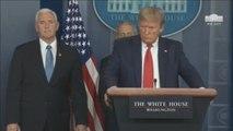Donald Trump afirma que quiere abrir el país a mediados de abril