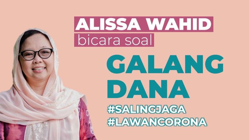 Alissa Wahid Bicara soal Penyaluran Donasi Bantu Ekonomi Warga Rentan Corona